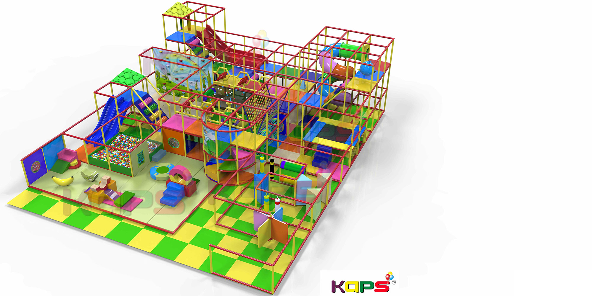 KAPS | Kids Indoor Play Area Equipment | Indoor Soft Play ...