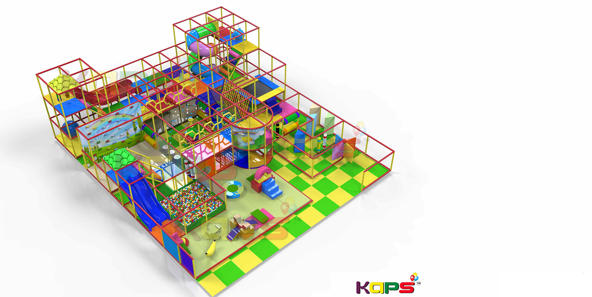 Kaps kids indoor play area equipment indoor soft play for Indoor soft play